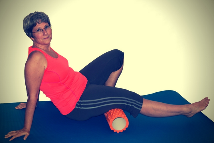 Fitness unlimited training sport triggerrolle foamroller